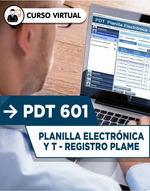PDT 601 Planilla Electrónica y T - Registro Plame