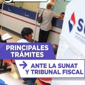 Principales Tramites Ante la Sunat y tribunal Fiscal