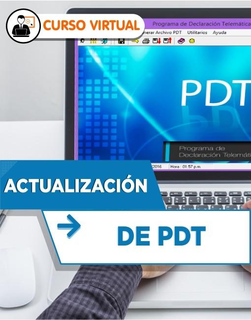 Actualización de PDT