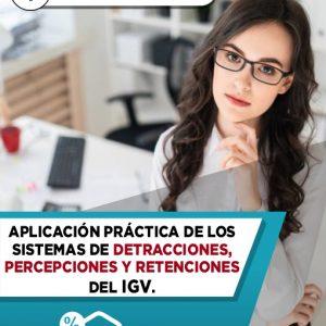 Diplomado en Detracciones, Percepciones y Retenciones del IGV